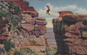 Arizona Grand Canyon Leap For Life Curteich