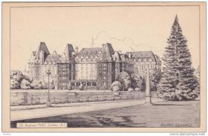 AS: Edward Goodall, The Empress Hotel, Victoria, British Columbia, Canada, 19...