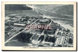 Camp Mourmelon Old Postcard national district