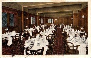 New York City Hotel Bristol The Clover Room 1920