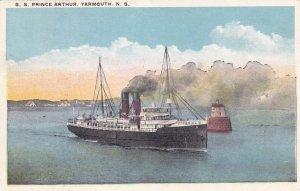 YARMOUTH, Nova Scotia, Canada, 1900-10s; S.S. Prince Arthur