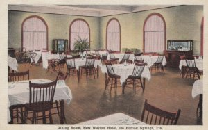 DE FUNIAK SPRINGS, Florida, 1910-20s; Dining Room, New Walton Hotel