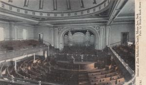 MOOSE JAW , Sask., Canada, 00-10s ; Interior , Zion Methodist Church