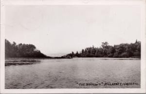 The Narrows Killarney ON Ontario Vintage Postcard E30