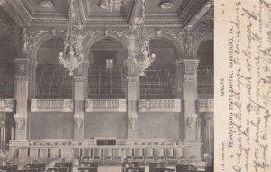 HARRISBURG , Pennsylvania , 1909 ; Senate inside Capitol Building