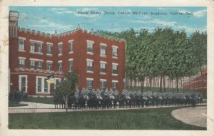 CULVER, Indiana, PU-1925; Black Horse Troop, Military Academy
