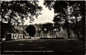 CPA Zuidlaren Gemeentehuis met Koetshuis NETHERLANDS (728994)