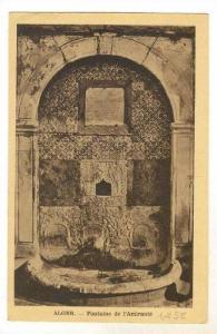 ALGER - Fontaine de l'Amiraute, PU-1924