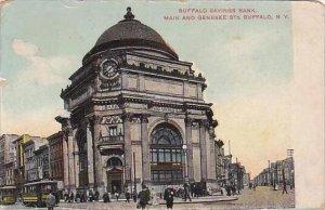 New York Buffalo Buffalo Savings Bank Main And Genesee Sts