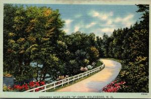 New Hampshire Wolfeboro Highway Near Allen A Camp