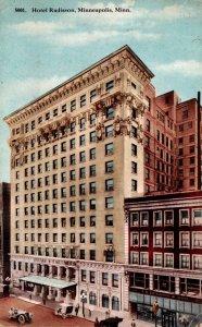 Minnesota Minneapolis Hotel Radison 1915