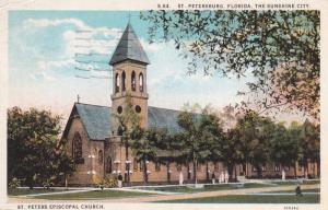 ST. PETERSBURG, Florida; The Sunshine City, St. Peters Episcopal Church, PU...