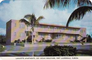 Flrorida Fort Lauderdale Lafayette Apartments
