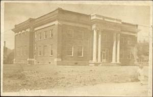 Monpelier ID City Hall c1915 Real Photo Postcard