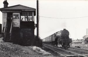 Bradbury Station Signal Box Durham Original Train Railway Old Photo