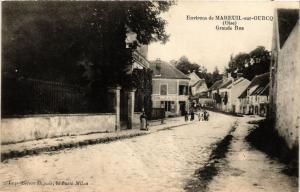 CPA Env. de MAREUIL-sur-OURCQ Grande Rue (377245)