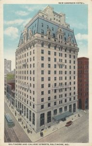 BALTIMORE, Maryland, 1900-1910s ;New Emerson Hotel
