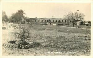 Agua Caliente Hotel 1930s Maricopa Arizona RPPC Photo Postcard Frasher 3458