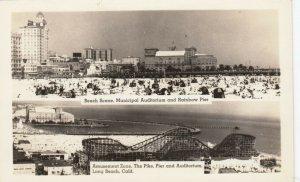 RP: LONG BEACH , California, 1930-40s ; Amusement Zone
