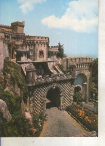 Postal 013841: Palacio Nacional da Pena en Sintra, Portugal