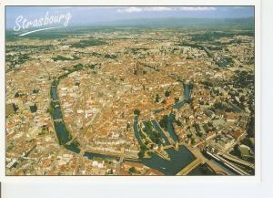Postal 039982 : Strasbourg (Bas-Rhin). Vue aerienne