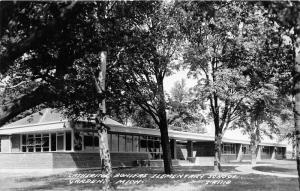 Garden-Delta County Michigan~Catherine Bonifas Elementary School~1950s RPPC