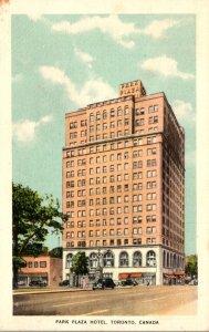 Canada Toronto Park Plaza Hotel 1947
