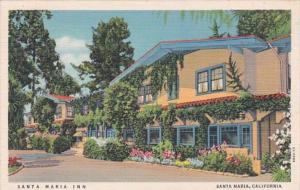 California Santa Maria The Santa Maria Inn 1941 Curteich
