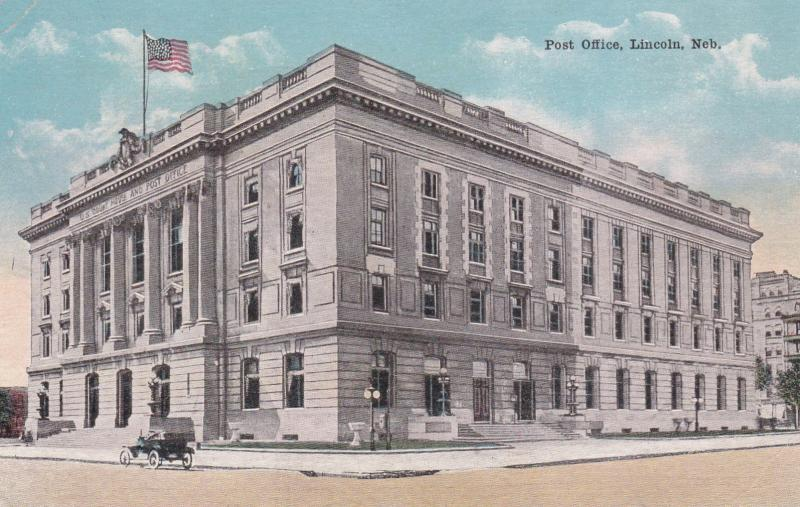 LINCOLN, Nebraska, 1900-10s; Post Office