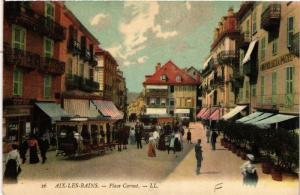 CPA Aix-les-Bains Place Carnot (681710)