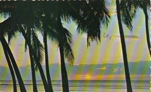 Hawaii Beautiful Hawaiian Sunset 1977