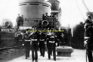 mm514 - Czar Nicholas II on ship 1908  - photo 6x4