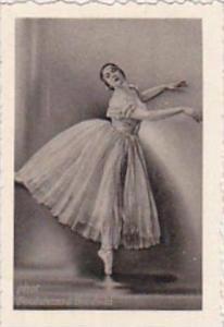 GARBATI CIGARETTE CARD FAMOUS DANCERS NO 57 KARINA ARI