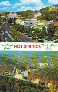 Arkansas Hot Springs Greetings From