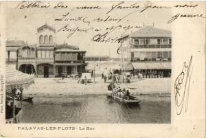 CPA Palavas-Les-Flots-Le Bac (255548)