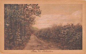 Van Pullandslaun Putten Holland Postal Used Unknown