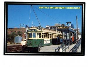 Seattle Waterfront Streetcar, Broad St, Washington