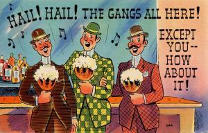 Comic - Hail, Hail, the Gang's All Here!