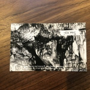 1930 REAL PHOTO POSTCARD - EAGLE CAVE, MUSCODA, WISCONSIN RPPC