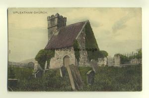 cu1577 - Upleatham Church , Yorkshire - postcard