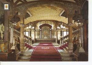 Postal 045813 : Entrada principal. Palau de la Musica Catalana. Barcelona