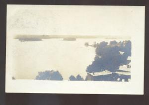 RPPC TAYLORS FALLS MINNESOTA ST. CROIX RIVER VINTAGE REAL PHOTO POSTCARD