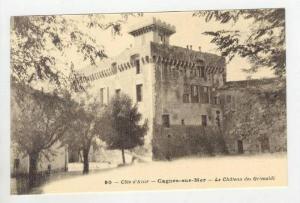 Le Chateau Des Grimaldi, Cagnes-sur-Mer (Alpes Maritimes), France, 1900-1910s