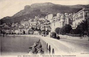 Monta Carlo , Trolly car , Montee de la Costa. La Condamine , 00-10s