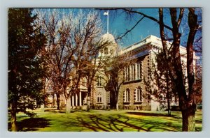 Carson City NV- Nevada, The State Capital, Chrome Postcard