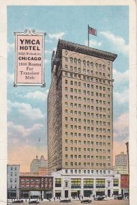 YMCA Hotel, Wabash Avenue, Downtown Chicago, Illinois, 1922