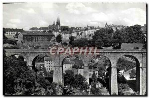 Old Postcard Luxembourg General view
