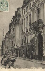 CPA Paris 4e - L'Ile St-Louis - Eglise et Hotel Chenizot (141600)