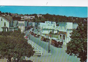 Michigan Mackinac Island Main Street and Village