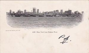 New York From Hudson River New York City New York 1905